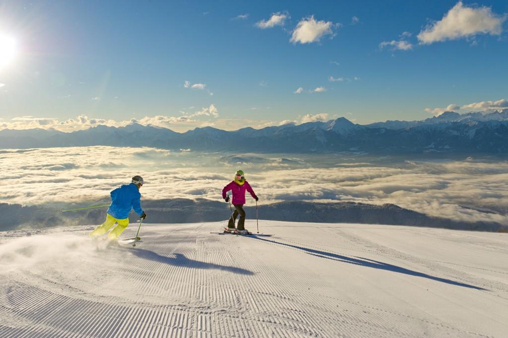 Kaernten Werbung_Gerlitzen Alpe_Skifahren 2_Franz Gerdl