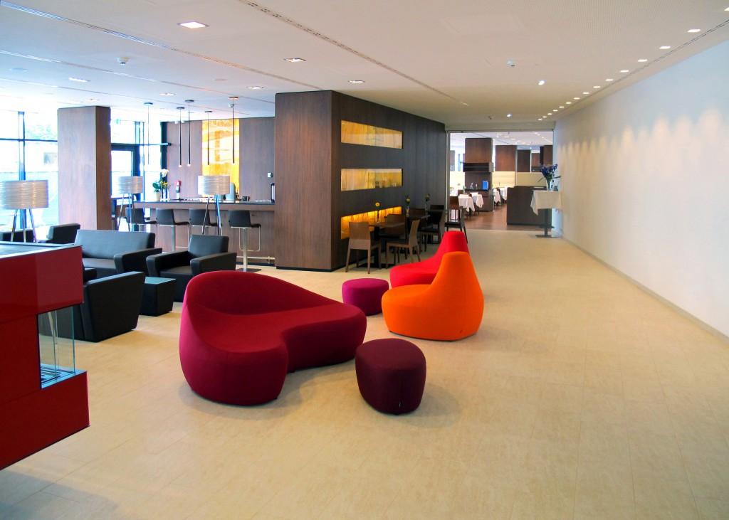 Lobby -Moroso im Thermenhotel Karawankenhof