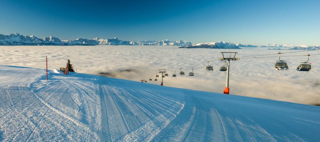 Region Villach Tourismus_Gerlitzen Alpe_Skigebiet 1_Hannes Pacheiner